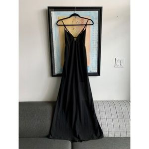 Cross-Back Maxi Dress
